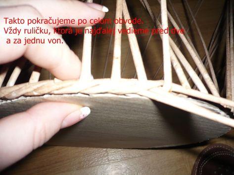 df7a5dcfd pletenie z papiera - Fotoalbum - Pletenie z papiera - návody - Návod na  opletok dvomi
