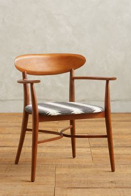 Anthropologie Elliptic Dining Chair #anthrofave #anthropologie