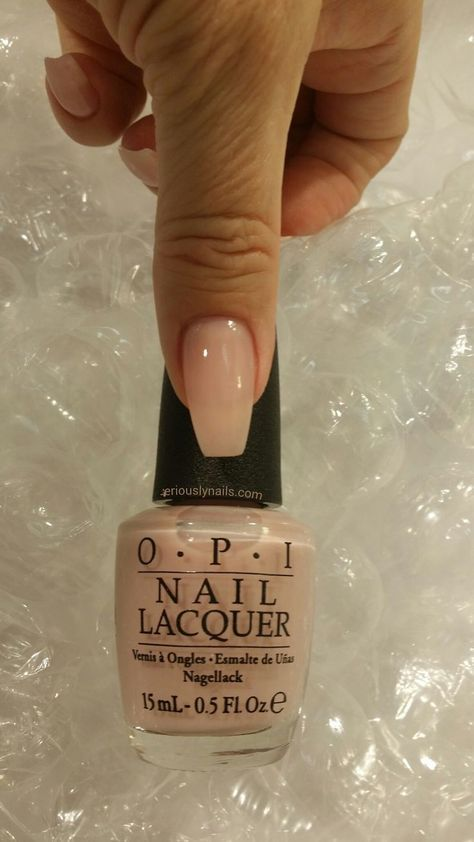 The newest edition of Soft Shades from OPI is available in the iconic nail lacquer colors as well as GelColors.… : The newest edition of Soft Shades from OPI is available in the iconic nail lacquer colors as well as GelColors. Opi Nails, Prom Nails, Nude Nails, Wedding Nails, Nail Nail, Opi Nail Polish Colors, Gel Polish, Nail Lacquer, Neutral Nails