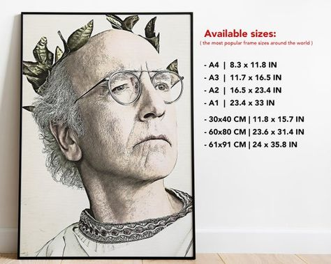 Curb Your Enthusiasm Poster Free Shipping Curb Your Enthusiasm Print Home Decor Curb Your Enthus Curb Your Enthusiasm Movie Prints