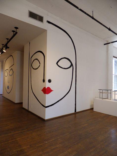 ralph pucci showroom | contemporary art | väggar, väggmålning e hem