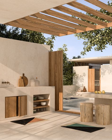 These Renderings of Tantuvi's New Rugs Will Transport You to a Sun-Drenched Desert Villa - Sight Unseen