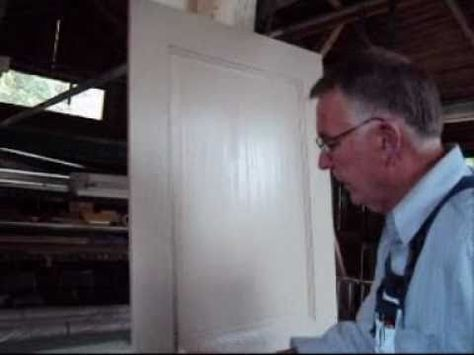 Holztüren richtig streichen renovieren Pinterest Richtig - k che tapezieren oder streichen