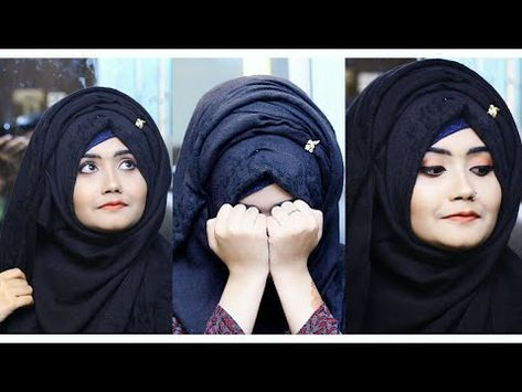 How To Wear Your Hijab Without Inner Cap Aisha Mukhtar Youtube How To Wear Hijab Hijab Hijabi Girl