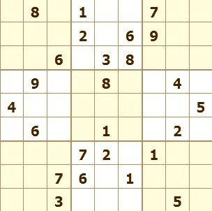 Sudoku Para Imprimir Nº 24 Imprimir Sobres Sudokus Actividades De Aprendizaje