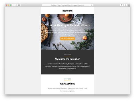 39 Free Responsive HTML Email Templates 2021 - Colorlib