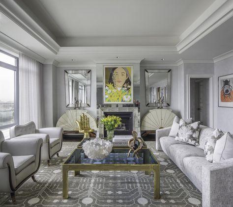 Portfolio Tui Pranich Eclectic Design Transitional Living