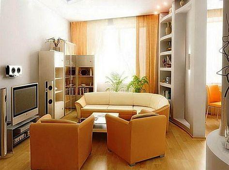 contoh warna cat dinding ruang tamu sempit minimalis
