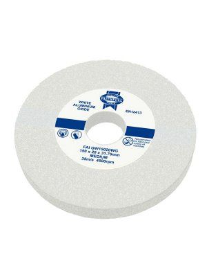 United Abrasives-SAIT 28104 6 by 1 by 1 GC80 Bench Grinding Wheel Vitrified 1-Pack