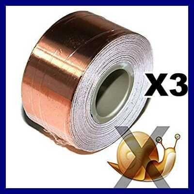 Sponsored Ebay Copper Foil Tape W Conductive Adhesive Slug Snail Repellent Guitar Emi Shieldi Foil Tape Copper Foil Tape Copper Foil