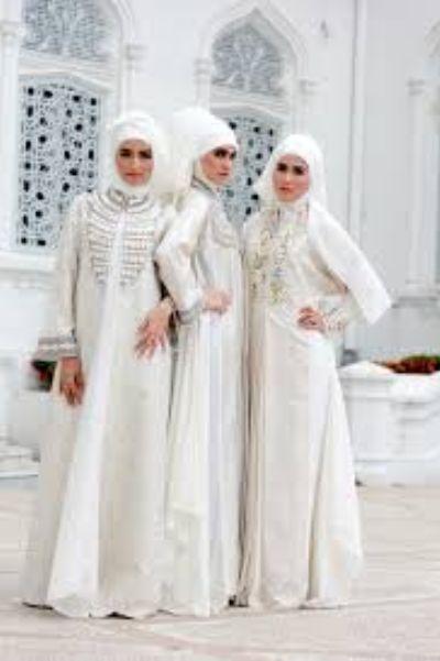 Baju Gamis Untuk Akad Nikah Outfits Gaun Pengantin Baju Muslim