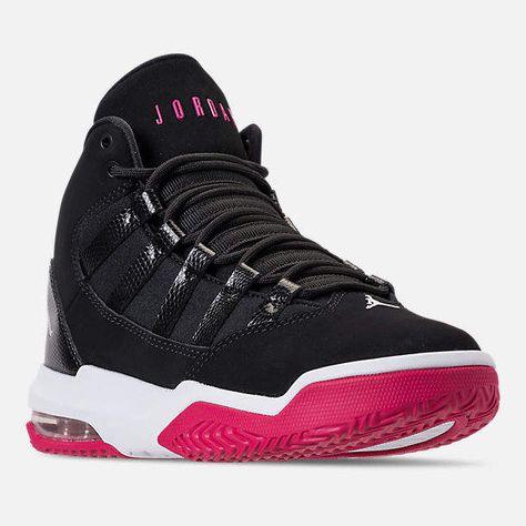 latest big discount arrives Nike Girls' Grade School Jordan Max Aura Basketball Shoes in ...