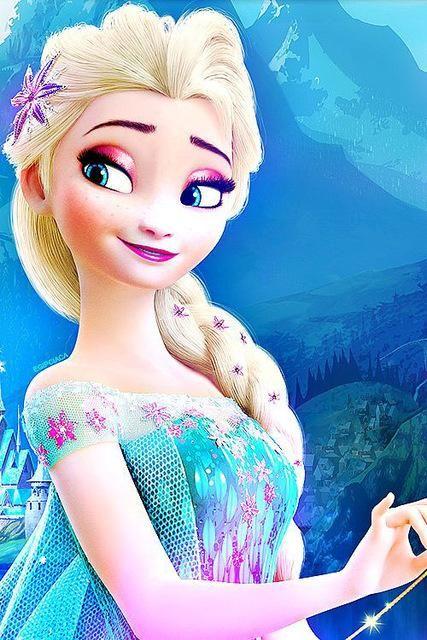 Diy Diamond Painting Elsa From Frozen 4 Devushki Disneya Risunki Disneya Disneevskie Temy