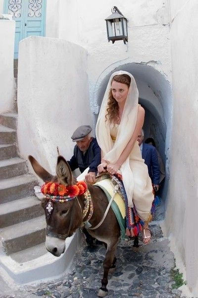 Greece - Beautiful Bridal Styles From Around The World - Photos