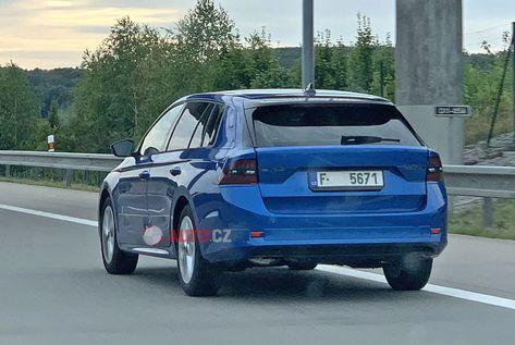 2020 Skoda Octavia Spotted With A Two Spoke Steering Wheel Skoda