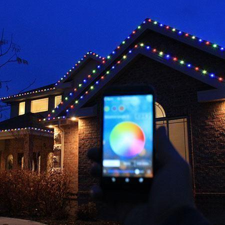 100 Kit Everlights Permanent Rgb Led Christmas Lights