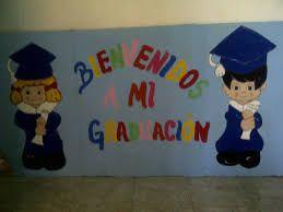 Resultado De Imagen Para Decoracion De Graduacion De Preescolar