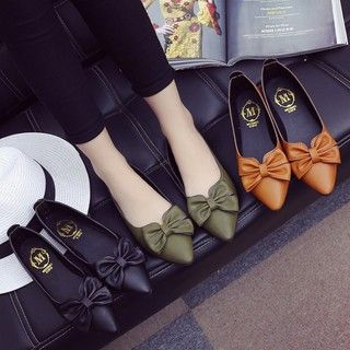 Work /& Casual Slip Ons Shoes w// Three Belt Buckle Women Ballerina Ballet Flats