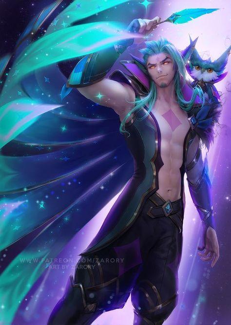 Rakan Guardião Estelar Fan Art League of Legends