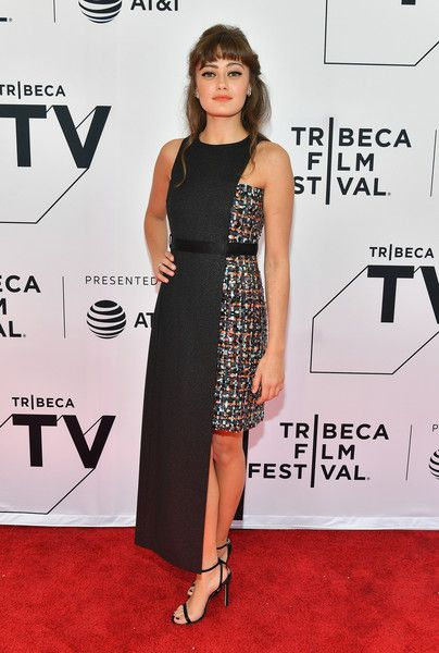 Ella Purnell attends the screening of 'Sweetbitter' during the 2018 Tribeca Film Festival.