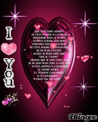 Mon Amour Je Taime Plus Que Tout Beau Texte D Amour Beau