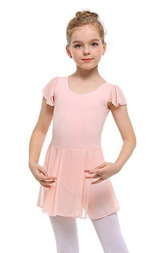 Clearance,Kids Girls Cotton Short Sleeve Leotard for Girls Gymnastics Ballet One Piece Dance Costumes Yamally