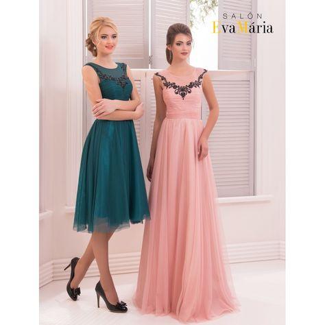 e9a3654c5538 Jednoduché spoločenské šaty s ramienkami