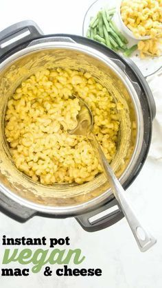 Instant Pot Vegan Mac Cheese Dairy Free Quick