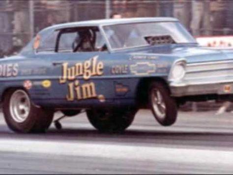 Jungle Jim and Jungle Pam - Drag Racing Legends