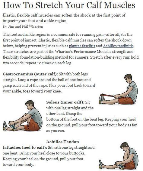 Calf Muscle Stretches   #TheShoeMart #barefoot #minimalist #natural #running