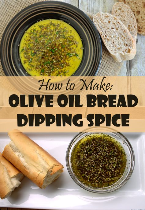 Make your own Olive Oil Bread Dipping Spice mixture, and you'll feel so fancy every time you serve Italian.