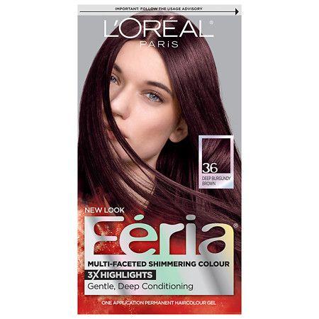 L Oreal Paris Feria Permanent Hair Color Light Brown 63 Feria