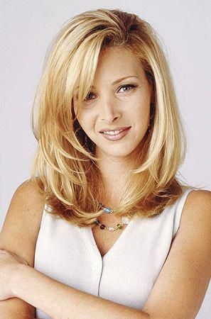 Lisa Kudrow - Flatten that hair out a little and I could see myself with it.
