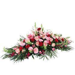 Raquette De Fleurs Acerra Par 123fleurs
