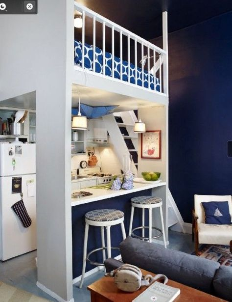 10 Tips For Tiny Homes Small Apartment Therapy Tiny House Interior Apartment Therapy Small Spaces