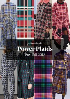 Pre-Fall 2018 Print and Pattern Highlights – Part 2 Pre-Fall 2018 Print and Pattern Highlights – Part Patternbank team bring you part 2 of our key Print & Pattern Trends from the Pre Fall