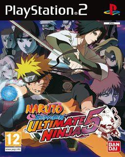 Naruto Shippuden Ultimate Ninja 5 ps2 iso rom download | Gaming