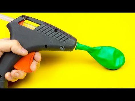 10 Nuove Idee Utili Con I Palloncini - YouTube