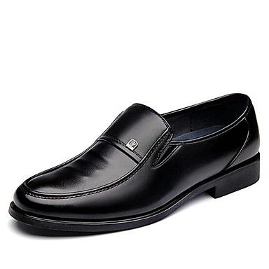 Shoes Men's Shoes 2018 New Style Office & Career/Casual Business Comfort Loafers Black