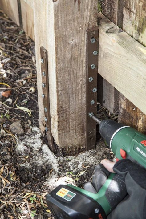 Fence Post Repair | Quick, Easy & Affordable | Post Buddy UK#affordable #buddy #easy #fence #post #quick #repair