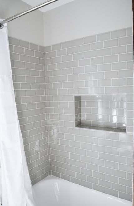 New Bathroom Grey Tiles Decor 33 Ideas Diy Bathroom Remodel Trendy Bathroom Tiles Bathtub Tile