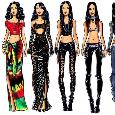 Rock the Boat and More than A Woman is one of my favorite Aaliyah style