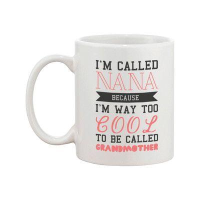 365 Printing Inc Grandma To Be Coffee Mug