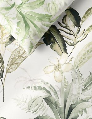 Hanna Pure Cotton Botanical Bedding Set