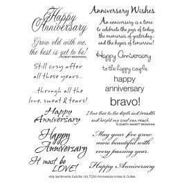 My Sentiments Exactly Anniversary Innies Card Sayings Anniversary Card Sayings Verses For Cards