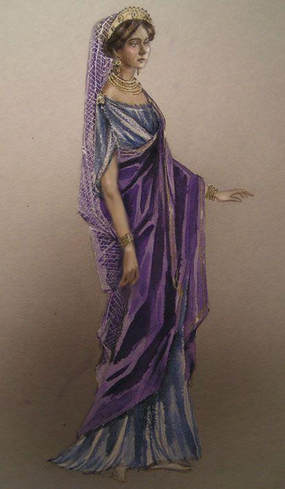 Roman Empire Army - A Roman woman by edarlein.