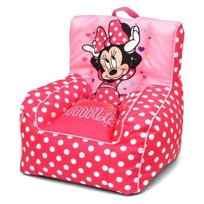 Fabulous Minnie Mouse Toddler Bean Bag Chair With Handle Disney Creativecarmelina Interior Chair Design Creativecarmelinacom