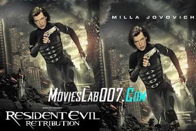 Resident Evil Retribution 2012 Brrip 720p X264 Dual Audio Hindi English In 2020 Retribution Resident Evil Resident Evil 5