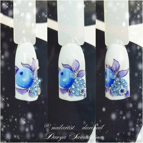 Snezhnaya Chernichka Kurs Hrustalnye Cvety I Frukty Blizhajshij Kurs V Moskve 19 Yanvarya Zapis Beautixrussia Obucheniene 3d Nail Designs 3d Nails Nail Designs