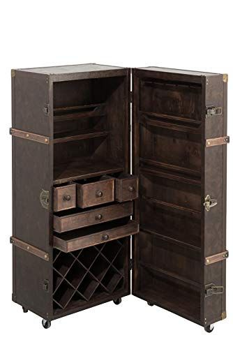 J Line Coffre Bar Aspect Vieilli Anglais Bois Pvc 126x52x Https Www Amazon Fr Dp B07hvsjj8b Ref Cm Sw R Pi Dp U X Gp7ocb05w Locker Storage Storage Lockers
